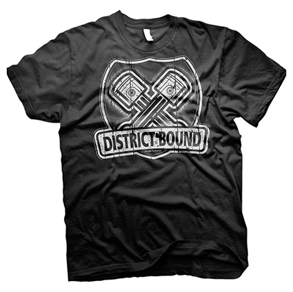 district bound shirt design